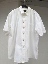 EDDIE BAUER Herren Hemd Gr. XL Weiß Herrenhemd Baumwolle