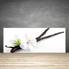 Crédence de cuisine en verre Panneau 125x50 Floral Fleur