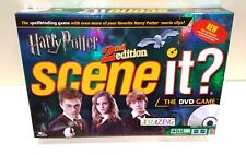 HARRY POTTER SCENE IT? 2nd EDITION MOVIE TRIVIA FAMILY BOARD GAME
