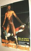 A1 Filmplakat ,WEISSE HAUT SCHWARZE SCHENKEL,M THOMAS