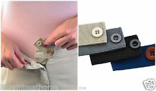 4 Bottoni Cintura estensori Pantaloni Gonna maternità Expander Cinturino Elastico