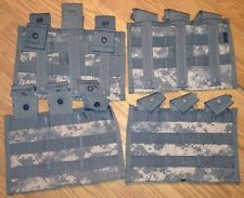 (6x) US Military TRIPLE magazine pouch holders MOLLE II  ACU   NEW!!