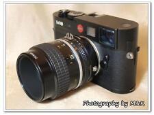 New Nikon lens to Leica Voigtlander M M6 M7 M8 adapter