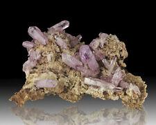"6.1"" Vivid Gem Purple AMETHYST Sharp Crystals on Matrix Vera Cruz Mexico sale"