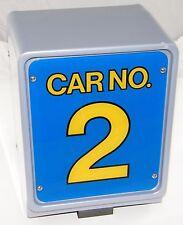 SEGA VIRTUA RACING GAME:  BACK LIT #2 TWO LIGHTED SIGN BOX, SET-UP, VIRTUAL