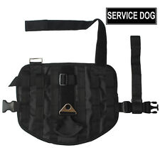 Outdoor Training Hunting Compact Dog vest harness + Patches for Pit Bull Terrier