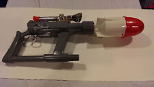 RARE VINTAGE LOT HUBLEY RED FOX MISSILE GRENADE ROCKET TOY GUN 1961 PLAYSET