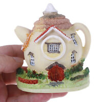 1PC Mini Teapot Villa Fairy Miniatures Villa Figurines/House Garden Decorafw