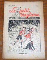 TINTIN Journal Le petit Vingtième 1939 Jolie couverture de Hergé