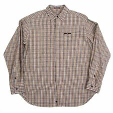 Paul Smith RED EAR Plaid Long Sleeves Shirt Size L(K-48112)