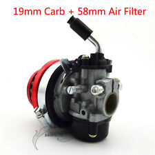 Carb Carburetor Air Filter For 50 60 66 80cc 2 stroke Gas Motorized Bike Bicycle