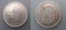 SPAIN KM#809 JUAN CARLOS I 50 PESETAS 1975 *80 SC/SC- UNC/AUNC SIN CIRCULAR