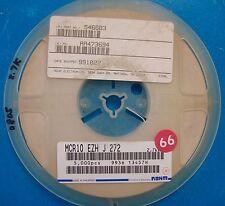 Rohm 0805 Resistor 2.7K Reel, 5%, MCR10EZHJ272, 5000pcs