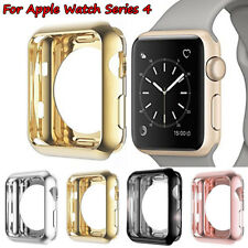 For Apple Watch Series 4 TPU Bumper iWatch Protector Case Cover 40/44mm Silicone