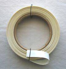 "(1) Piece White PVC Heat Shrinkable Tubing Poly Vinyl Shrink Tube 1"" x 72"""