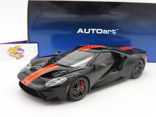"AUTOart 72945 # Ford GT Bj. 2017 "" shadow black / orange stripes "" 1:18  NEU"