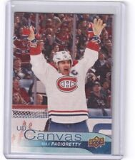 2016-17 Upper Deck Series Two UD Canvas Max Pacioretty Montreal Canadiens