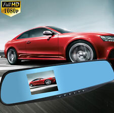 2.8''Full HD 1080P Auto Rearview Mirrors Kamera Car DVR DashCam Video Recorder