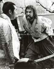 JAMES CLAVELL RICHARD CHAMBERLAIN ORIG SHOGUN NBC PRESS PHOTO #2