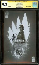 ENORMOUS #1 CGC 9.2 SS x1 SIGNED by TIM DANIEL PHANTOM CREATURE VARIANT COVER!