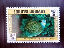 CAYMAN ISLANDS 1979 Fish 5c Sideways INVERTED/WMK Error SG485w U/M MNH FP5540