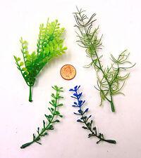 4 diferentes plantas casa de muñecas en miniatura de arreglos florales un Accesorio De Jardín