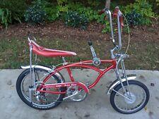 Schwinn 1971 Original Apple Krate Stingray Bicycle * Survivor