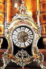 GROßE PRACHT BOULLE KAMINUHR PENDULE CLOCK alt antik Barock Louis Tiffany Victor