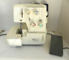 Janome New Home My Lock 134D Serger Sewing Machine Foot Control Runs