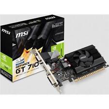 MSI GT 710 2GD3 LP GeForce GT 710 2GB DDR3 Low Profile PCI-Express Video Card AF