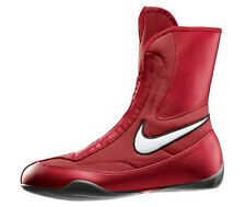 NEW Men's Nike Machomai Mid-Top Boxing Shoes Size: 9 Color: Red