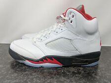 Nike Air Jordan 5 Retro og 2020 Rojo Fuego Para Hombre Talla 12 DA1911-102 Nuevo
