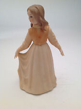 Goebel Crafts Lazlo Ispanky   Girl In Dress W/ Flower Figurine 1978 *Rare*