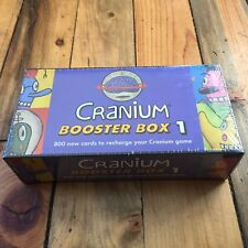 New Cranium Game Booster Box Pack 1 Factory Sealed 800 Cards Recharge Brand NEW!