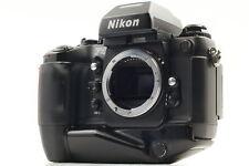[Exc+5] Nikon F4S 35mm SLR Film Camera MB-21 Battery Body SLR From JAPAN