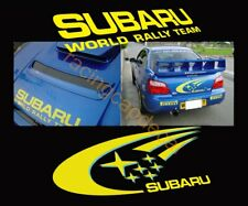 world rally Bonnet Hood Rear Trunk Boot team Decal Sticker for impreza sti wrc r