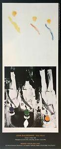"""John Baldessari - """"John Baldessari: New Work"""" Exhibition Poster, 1995"""