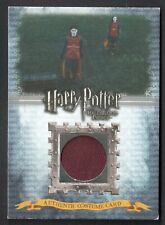 HARRY POTTER & THE HALF-BLOOD PRINCE Artbox 2009 Costume Card #C5 (#551/630)