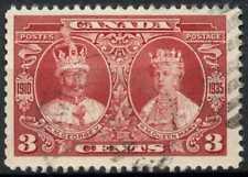 Canada 1935 SG#337, 3c Silver Jubilee Used #E866