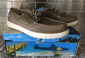 Margaritaville Boat Shoes Palm Men's Size 10