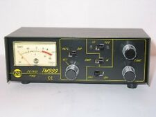 ZETAGI TM 999 SWR & Power Meter Matcher CB Ham Radio FREE 50cm PATCH LEAD