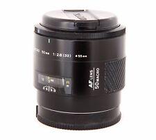 MINOLTA AF 50 F2.8 Macro - 17201199 - Per Sony/Minolta A-Mount