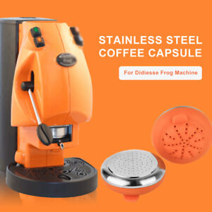 iCafilas Refilled Coffee Capsule Pod StainlessSteel For Didiesse Frog Revolution