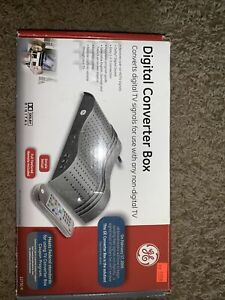 NEW Smart Digital Converter Box GE Model 22730 with Remote Cable & User Manual