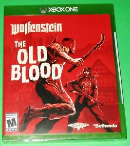 Wolfenstein: The Old Blood Xbox One *New! *Sealed! *Free Shipping!