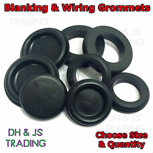 Wiring And Blanking Grommets Rubber Gromets Open Closed Grommet Blind Cable Bung