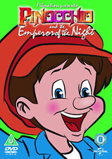 DVD:PINOCCHIO AND THE EMPEROR OF THE NIGHT (BIG FACE SKU) - NEW Region 2 UK