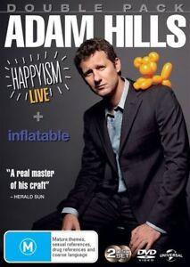 Adam Hills - Happyism - Live 2013 / Inflatable..2 X DISCS..R4..NEW & SEALED   V5