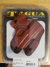 Tagua Gunleather Dual Snap Holster Ruger SR9 Brown Left Handed DSH-353