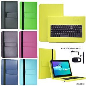 Tablet Hülle + USB Tastatur Tasche für Acepad A121 Schutzhülle 10.1' V1